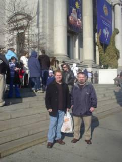 Photo – Pat and Sean