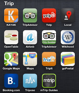 Smartphone Apps for travelers