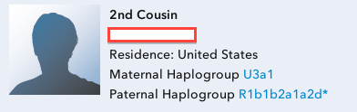 23andMe matching distant relatives