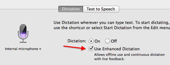 Using Apple's free dictation on a Mac to transcribe a large amount of handwritten text