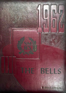 1962 The Bells St Marys Area High School Yearbook Cover