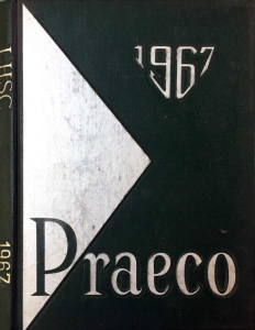 1967 Lock Haven State College Yearbook Praeco