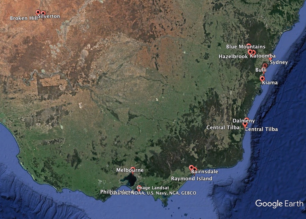 Travel through New South Wales and Queensland Australia in 2 weeks