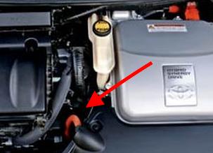 Toyota Prius AC refrigerant charging